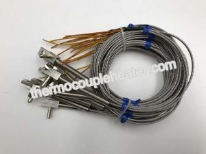 China Plastic Mould Hot Runner Manifold Thermocouple Temperature Sensor Probe J Type on sale