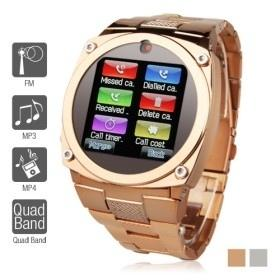 "China TW818B Unlocked Watch Cell Phone 1.6"" TFT Touch Screen Quad Band GSM Mobile Hidden Camera Bluetooth GPRS JAVA on sale"