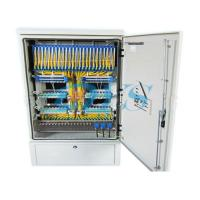 Two Layers Fiber Optic Terminal Box , Stainless Steel Distribution Cabinet