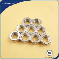 Nuts Bolts Fasteners Carbon Steel / Stainless Steel Hex Nut OEM Available