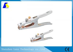 China Copper Welding Earth Clamp 500A 1.0mm Thickness Zinc - Plating Surface Treatment on sale
