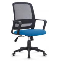 Ergo Mesh Seat And Back Office Chair , Classic Rolling Netted Office Chairs