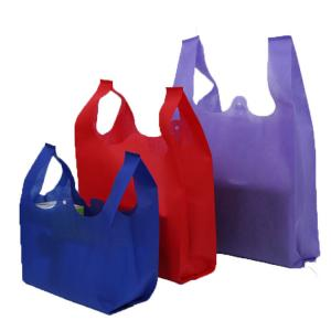 China Promotional Non Woven U Cut Bag  Lightweight Eco Friendly Grocery Tote on sale