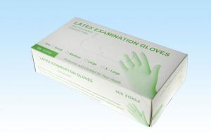 China Latex Examination Gloves on sale