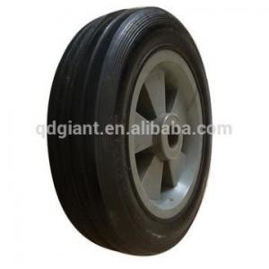 China 5 inch toy cart wheels wagon wheel solid tire for sale on sale