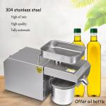 Easy Operation Flaxseed Oil Press Machine LTP205 Food Grade 314 Stainless Steel