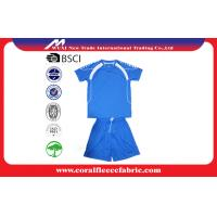 Custom Soccer Team Wear Youth Customizable Soccer Jerseys / Football T Shirt
