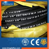 China 3/8  Wire Braided High Pressure Washer Hose 3000PSI/4000PSI/5000PSI on sale