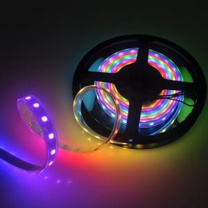 China SK6812 30/60/144 LEDs/m 5050 RGB Flex led strip Light 5V Similiar as WS2812B APA104 on sale