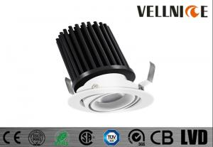 China Hotel 15w Recessed Adjustable Integrated Led Downlights With 20 Degree Tilt / R3B0619 on sale