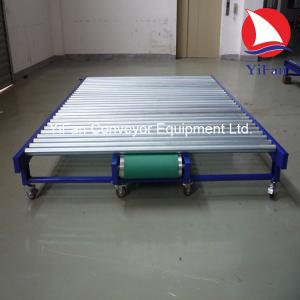 China Motorized Roller Conveyor for convey mattresses on sale
