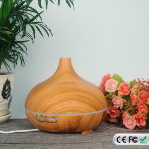 China 300ML Wood Grain Oil Cool Mist Aroma Diffuser Ultrasonic Humidifier Essetial Oil Diffuser on sale