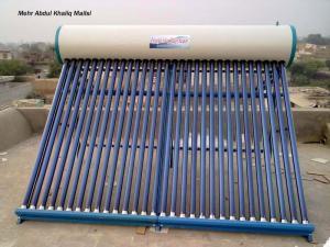 China aquecedor de água solar, distribuidor do coletor do projeto on sale
