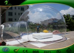 China Environmental PVC Inflatable Bubble Tent , Clear Inflatable Party Tent on sale