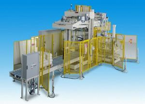 China Affordable Low Level Palletizer for the Stacking of Cartons / Bags / Barrels on sale