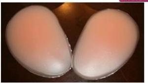 China Silicone buttocks with panties, 200G S-1025 on sale