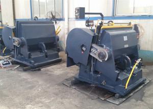 China High Flywheel Torque Die Cutting Punching Machine / Flat Bed Die Cutting Machine on sale