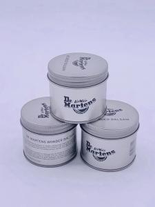 China Attractive Wax Tin Box / Round Tin Can for Cosmetics Recycled Material on sale