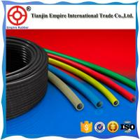 China Plastic PTFE tube acid resistant hose with stainless steel braiding Reinforcement  304/316 stainless steel wire braided on sale