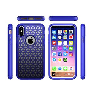 China Gradient Dissipation 2 in 1 Mobile Phone  Protective  Cover Case for iPhone 8 on sale