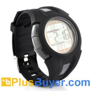 China Radio Controlled Sport Watch with Automatic Time Adjustment (Solar Powered, Waterproof) on sale