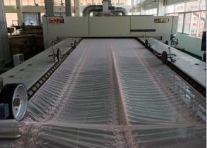 China Lace / Silk Fabric Heat Setting Stenter Machine , -10%-30% Overfeeding , Finishing Padder on sale