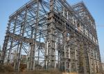 Large Span Heavy Architectural Structural Steel Portal Frame Workshop Plant With Bridge Crane