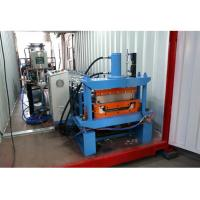 China Shaft 75mm Boltless Roof Panel Forming Machine on sale