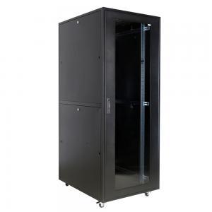 China 45U Smart Network Server Cabinet Passive Ventilation Server Enclosure With Doors on sale