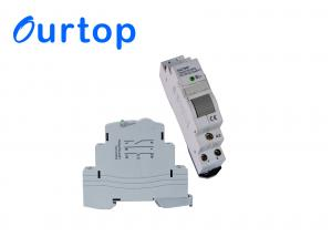 China 2 Pole Impulse Din Rail Latching Relay With Longer Mechanical And Electrical Life on sale