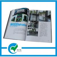Customized Pantone Color Commercial Magazine Printing with Glossy Paper