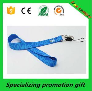 China Professional Fine polyster ID Card Holder Lanyard Neck Strap 2*45cm on sale