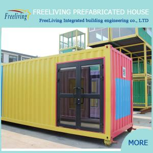 China Low Cost Container House, 20ft Living Container Home on sale