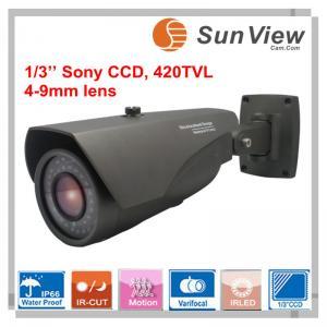 China SunView Sony CCD Varifocal lens IR bullet CCTV Camera, Sony CCD camera(SV-DO422VP) on sale