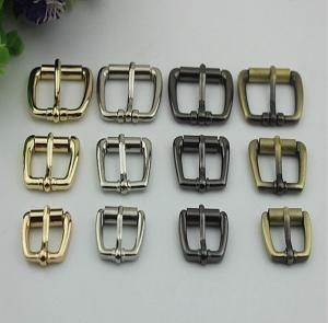 China India hot sales Iron Material 16 mm Hanging Brush Anti Brass Color Roller Belt Pin Buckle For Leather Belt on sale