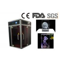 Single Phase 3D Laser Glass Engraving Machine CE / FDA Certificated