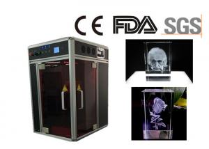 China Single Phase 3D Laser Glass Engraving Machine CE / FDA Certificated on sale