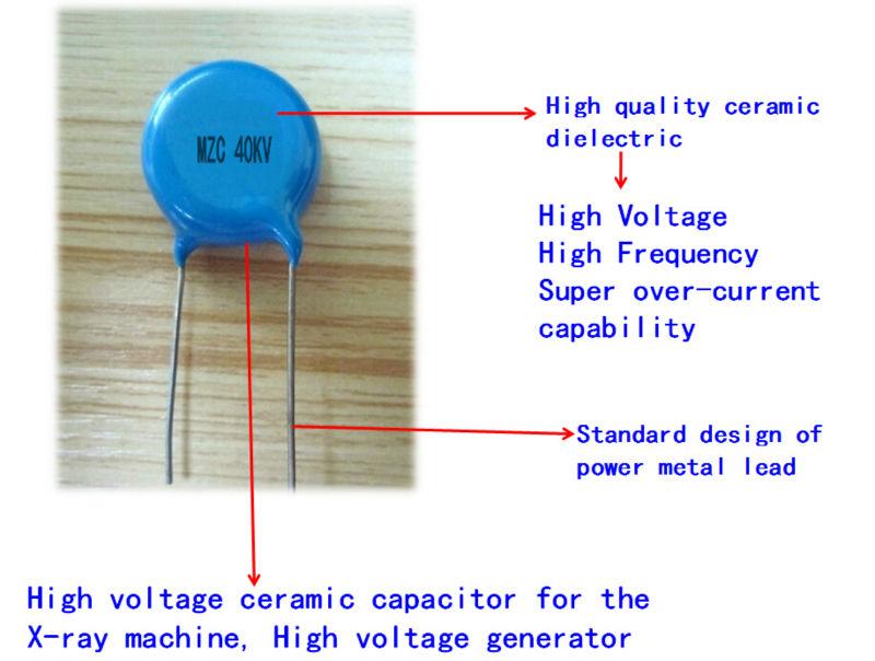 Kv pf ceramic disc high voltage capacitor made in