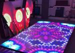 Entertainment RGB LED Displays P6.25 For Led Dance Floor Display Video