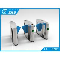 China Jiaxuntong brand flap barrier gate with CE certificates for metro station on sale