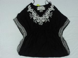 China Black Fashion Nation Wind Ladies / Womens Knit Tops With Special Design on sale