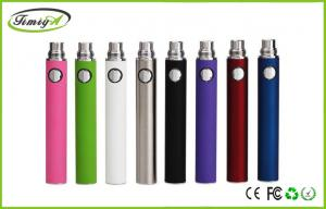 China E Cigarette Rechargeable Battery , 650mah / 900mah For Evod Battery ROHS FCC on sale