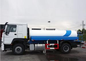 China 9 Cbm Capacity Water / Lpg Tanker Truck With LHD Driving Type 4600mm Wheel Base on sale