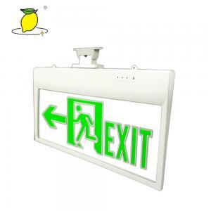 China Plastic Acrylic 3W Running Man LED Emergency Exit Light on sale