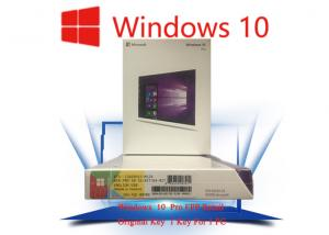 Quality 1703 Version System Data Genuine Windows 10 Pro Oem / Coa Sticker / Fpp for sale