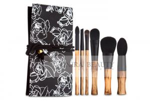 China Luxury Limited Collection Natural Makeup Brushes With Elegant Original Bamboo Handle on sale