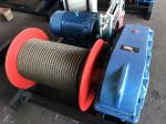 Durable Electric Lifting Winch 175 - 1100 Mm Drum Diameter For Construction