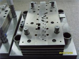 China Thread Metal Stamping Mold Progressive Die One Row Cavity Testing / Adjusting Service on sale