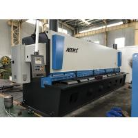 China Auto Cutting Sheet Metal Guillotine Cutter With Germany Bosch Rexroth Hydraulic System on sale
