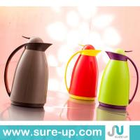 China Plastic thermos, vacuum flask, glass water jug,coffee pot,1.0L on sale